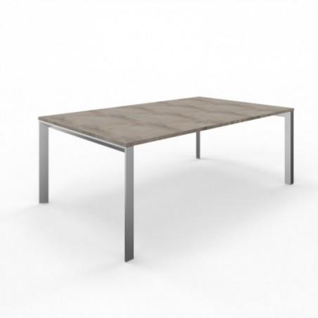 Vue 3D table de réunion S-SIMO L200
