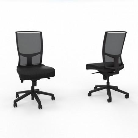 Vue 3D siège I-SIMO 091327 lava noir