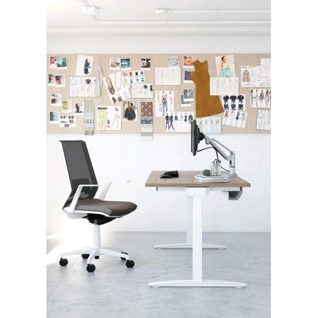 bureau ergonomique réglable en hauteur U-SIMO