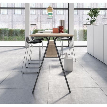 Table haute rectangulaire Mh-SIMO