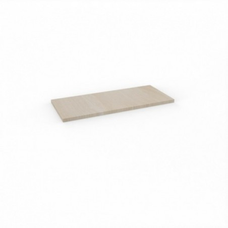 Top armoire M-SIMO 100x43 acacia clair