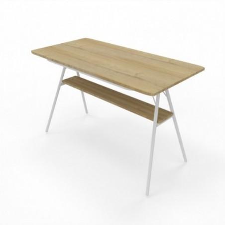 Vue 3D table haute rectangle Mh-SIMO L120